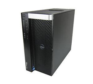 Dell Precision T7610 - 2x E5-2680v2 2.8GHz 10C 128GB K4000 1TB SSD 2TB W10Pro