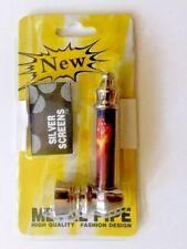 Metal Tobacco Smoking Pipe  + 5 Screens