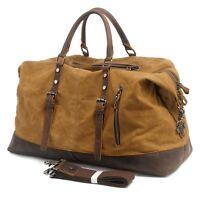 NEW Men Canvas Casual Travel Handbag Shoulder Messenger Bag Briefcase Laptop Bag