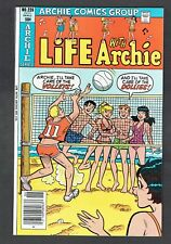 Life With Archie #226 Archie Comics Group 1981 VF/NM Riverdale Betty & Veronica