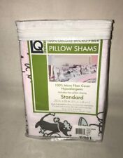 pillow shams standard 20 X 26- Living Quarters Micro Fiber Hypoallergenic Paris