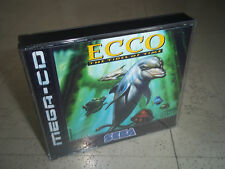 ECCO:THE TIDES OF TIME.SEGA MEGA CD PAL EMPTY REPLACEMENT CASE+INLAYS ONLY.