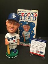 Tommy Lasorda Signed Dodgers 2001 SGA Baseball Bobblehead PSA 6A53741