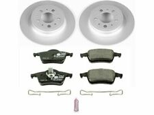For 2001-2007 Volvo V70 Brake Pad and Rotor Kit Rear Power Stop 74619DT 2002
