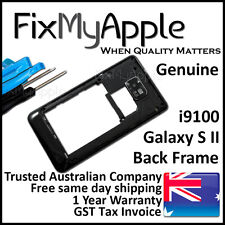 Samsung Galaxy S2 i9100 Black Back Housing Frame Camera Lens Cover Replacement