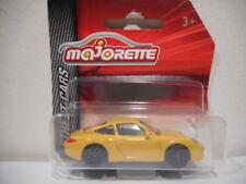 Véhicules miniatures jaunes pour Porsche, pas de offre groupée