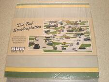 BUB Straßenplatten-Set - street plates set NEW - z.B. für Schuco Wiking 1:87 HO