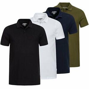 Herren Polo Shirt T-Shirt Poloshirt Herrenshirt Kurzarmshirt Jack & Jones Basic