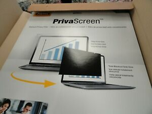 """Fellowes 19"""" Priva Screen Blackout privacy filter, New, Lot of 4 - 1 price!!!"""