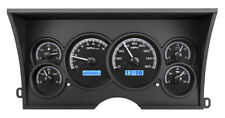 1988-94 Chevy GMC C/K 1500 2500 Dakota Digital Black Alloy / Blue Dash Gauge Kit
