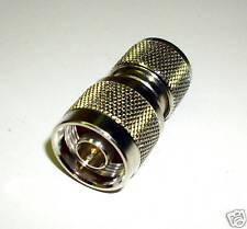 1 pièces HF-Adaptateur, uhf MÂLE/N-connecteur (m3646)