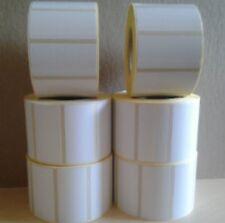 Etiquetas Blancas 5 Rollos De 1,000 Etiquetas Por Rollo - 50 X 25 Mm