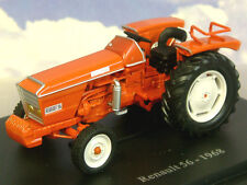 SUPERB U/H HACHETTE DIECAST 1/43 1968 RENAULT 56 TRACTOR IN ORANGE-RED TR18