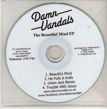 (CU459) Damn Vandals, The Beautiful Mind EP - 2011 DJ CD