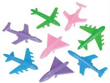 WHOLESALE - 24 TOY AIRPLANES!!! party favors planes jet airliner school crafts