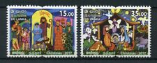 Sri Lanka 2017 MNH Christmas Nativity 2v Set Seasonal Stamps