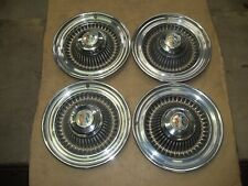 """1964 64 Buick LeSabre Wildcat Hubcap Rim Wheel Cover Hub Cap 15"""" OEM USED A16 4"""