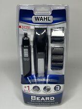 WAHL Beard Trimmer Set with Bonus Nose & Ear Trimmer (9 Cutting Lengths)