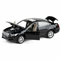 Honda Accord 1:32 Model Car Metal Diecast Gift Toy Vehicle Kids Collection Black