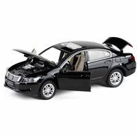 Honda Accord 1:32 Metall Die Cast Modellauto Spielzeug Kinder Pull Back Schwarz