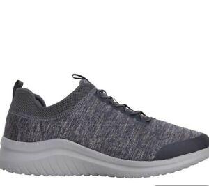 skechers mens ultra flex 2.0 fedik grey Size 9.5 New In Box