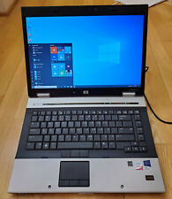 "HP EliteBook 8530p 15.4"" Intel Core 2 Duo 2.53GHz 4GB WiFi HDMI  Win 10 Pro"