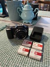 Sony Cyber shot DSC-H20 10x Optical Zoom Digital  Camera Charger 4 Batteries E1