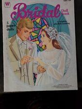 VINTAGE Whitman Bridal Paper Doll Book 1978 UNCUT VERY NICE BOOK #1986