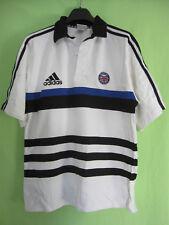 Maillot Bath Rugby Vintage Jersey Adidas Shirt coton Premiership - L