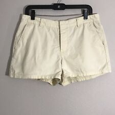 American Eagle Outfitters Women's Yellow Bootie Shorts Sz 10