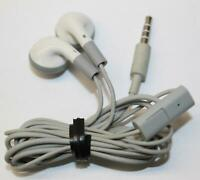 In-Ear Cellphone Headset White Stereo Sound White Headphone with Microphone