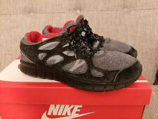 Nike Free Run 2  Black / Red / Anthracite - UK 10 / EUR 45 - Rare Colourway