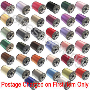 Brother Satin Polyester Machine Embroidery Thread 300m Choice of 68 Colours