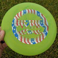 Rare Swirly Paul McBeth McPro Aviar Disc Golf Innova Max Weight Flag Stamp