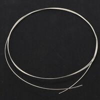 1mm Round Hard-Soft 925 Sterling Silver Wire 18 Gauge