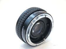 Teleplus MC4 2x Teleconverter for Canon mount. stock No.U12450