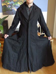 Kutschermantel Hard Leather Stuff Wollmantel Gothic