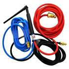 CK20 Water Cooled TIG Torch Kit 250A 12.5' 3-Pc Super-Flex cable CK20-12SF