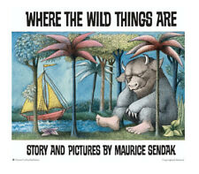 Where the Wild Things Are by Maurice Sendak (2012, Trade Paperback, Anniversary)