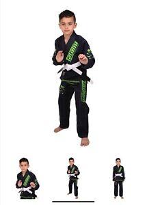 Tatami Fight Wear Boy Girl Kids Jiu-jitsu Kimono Costume