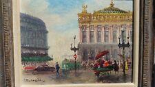 European Oil Painting...G. Pechaubis Original Guessing 1940's
