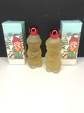2 New in Box Avon Song of Christmas Bird of Paradise Cologne Nos