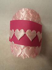 2M-rosa cuore Motif, passamaneria, APPLIQUE, Matrimonio, Raso Nastro in Pizzo-w-23mm