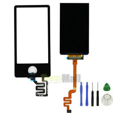 Black LCD Display Touch screen Digitizer Glass Replace For iPod Nano 7 7th Gen