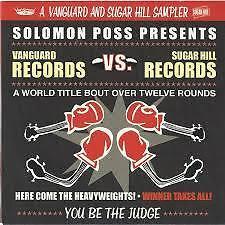 CD: Vanguard Records Vs. Sugar Hill Records/14 TRK/sealed