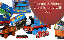 THOMAS & FRIENDS Trains Wooden Railway Take n play 20 MODELS BNIB Combine Post