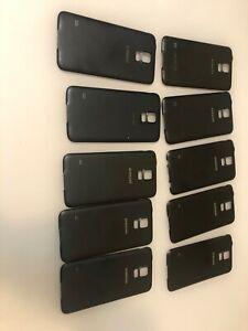 LOT OF 10 OEM Samsung Galaxy S5 G900 Battery  Cover Back Door Black