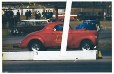 1970s Drag Racing-1940 Willys Coupe D/Altered-Hine Auto Body-Maple Grove Dragway