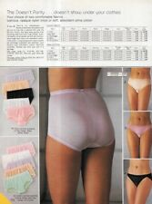 Super Small Lot of Vintage Catalog Lingerie Undies Photo Clippings