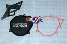 CR80 CR85 BOYESEN FACTORY IGNITION COVER & CHAIN GUARD BLACK 85-07 CR 80 85